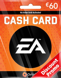 ea eur60 cash cards de discount promo