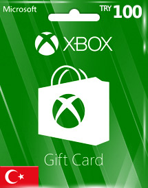 xbox live gift card try100 tr