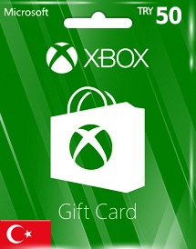 xbox live gift card try50 tr