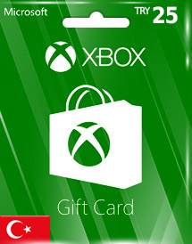 xbox live gift card try25 tr