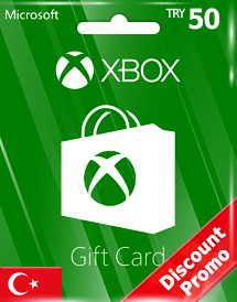 xbox live gift card try50 tr discount promo