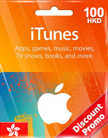 hkd100 itunes gift card hk discount promo