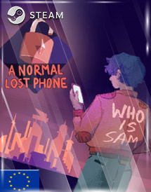 a normal lost phone steam key [eu]