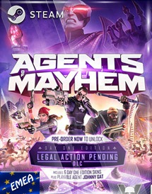 agents of mayhem steam key [emea]