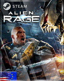 alien rage - unlimited steam key [emea/us]