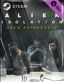 alien: isolation - crew expendable dlc steam key [global]