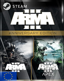 arma 3 anniversary edition steam key [eu]