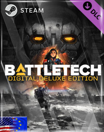battletech - deluxe content dlc steam key [emea/us]