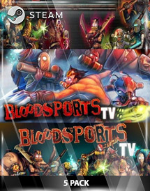 bloodsports.tv 5 pack steam key [global]