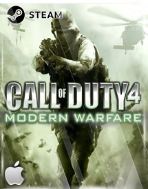 call of duty 4: modern warfare mac steam key [global]