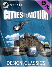 cities in motion - design classics dlc steam key [global]