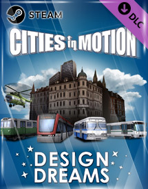 cities in motion - design dream dlc steam key [global]