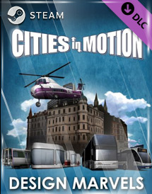 cities in motion - design marvels dlc steam key [global]