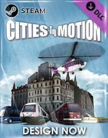 cities in motion - design now dlc steam key [global]