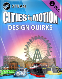cities in motion - design quirks dlc steam key [global]