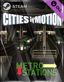 cities in motion - metro stations dlc steam key [global]