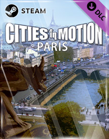cities in motion - paris dlc steam key [global]