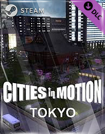 cities in motion - tokyo dlc steam key [global]
