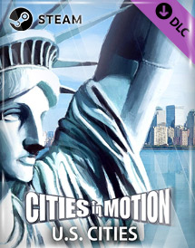 cities in motion - us cities dlc steam key [global]