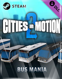 cities in motion 2 - bus mania dlc steam key [global]