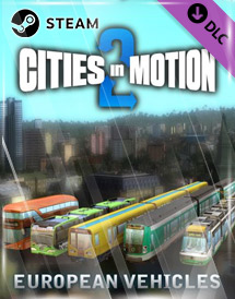 cities in motion 2 - european vehicle pack dlc steam [global]