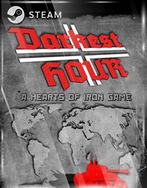 darkest hour: a hearts of iron game steam key [global]