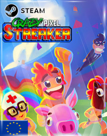 crazy pixel streaker steam key [eu]