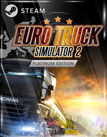 euro truck simulator 2 - platinum edition steam key [global]