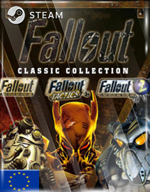fallout classic collection steam key [eu]