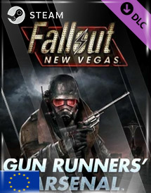 fallout new vegas - gun runners' arsenal dlc steam key [eu]