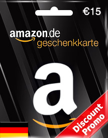 eur15 amazon gift card de discount promo