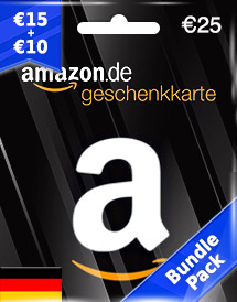 amazon gift card eur25 de bundle pack