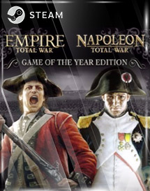 empire and napoleon: total war goty steam key [global]