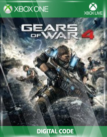 gears of war 4 - xbox one xbox live key [global]