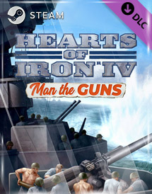 hearts of iron iv: man the guns dlc steam key [global]
