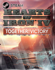 hearts of iron iv: together for victory steam key [global]