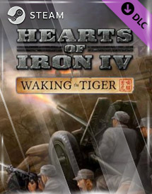 hearts of iron iv: waking the tiger dlc steam key [global]