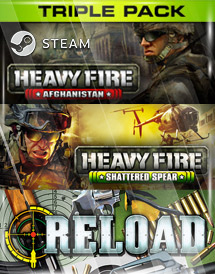 heavy fire + reload triple pack steam key [global]
