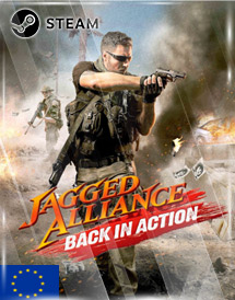 jagged alliance: back in action steam key [eu]