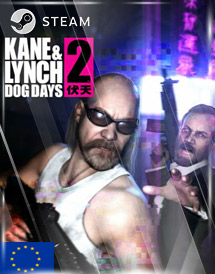 kane & lynch 2: dog days steam key [eu]