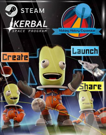 kerbal space program: making history steam key [global]