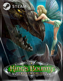 king's bounty: crossworlds steam key [global]