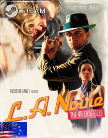 l.a. noire: the vr case files [vr] steam key [emea/us]