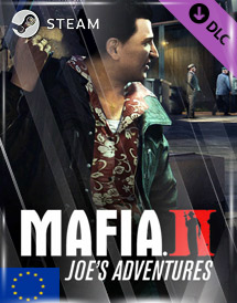 mafia ii - joe's adventures dlc steam key [eu]