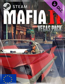 mafia ii - vegas pack dlc steam key [eu]