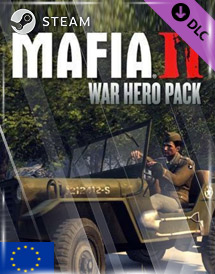 mafia ii - war hero pack dlc steam key [eu]