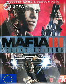 mafia iii deluxe edition steam key [eu]