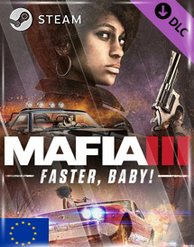 mafia iii - faster baby! dlc steam key [eu]