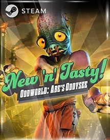 oddworld: new 'n' tasty steam key [global]