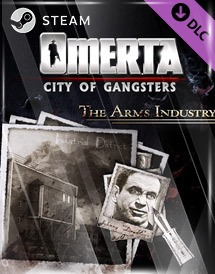 omerta - city of gangsters: the arms industry dlc steam [global]
